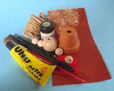 Basteln mit kindern kostenlose bastelvorlage advent for Bastelideen blumentopf