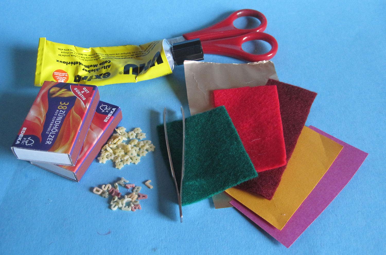 Wundervoll Kleine Weihnachtsgeschenke Basteln Beste Wahl Material Für Die Selbst Gebastelten Streichholzschachteln