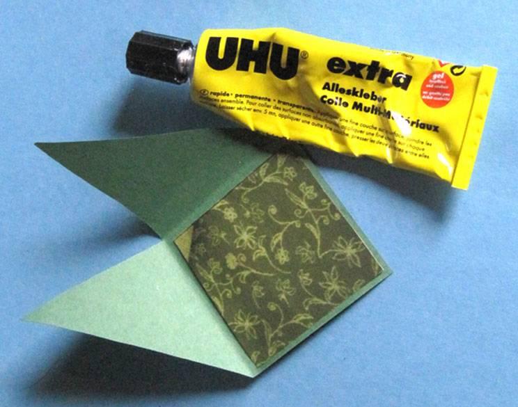 bastelvorlage origami und papier lesezeichen aus papier zum basteln. Black Bedroom Furniture Sets. Home Design Ideas