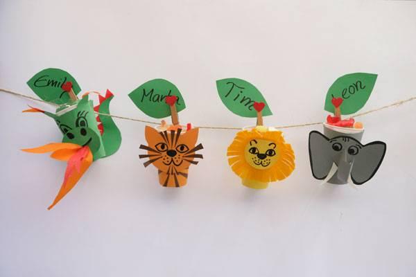 Basteln mit kindern kostenlose bastelvorlage basteltipps for Drachen basteln im kindergarten