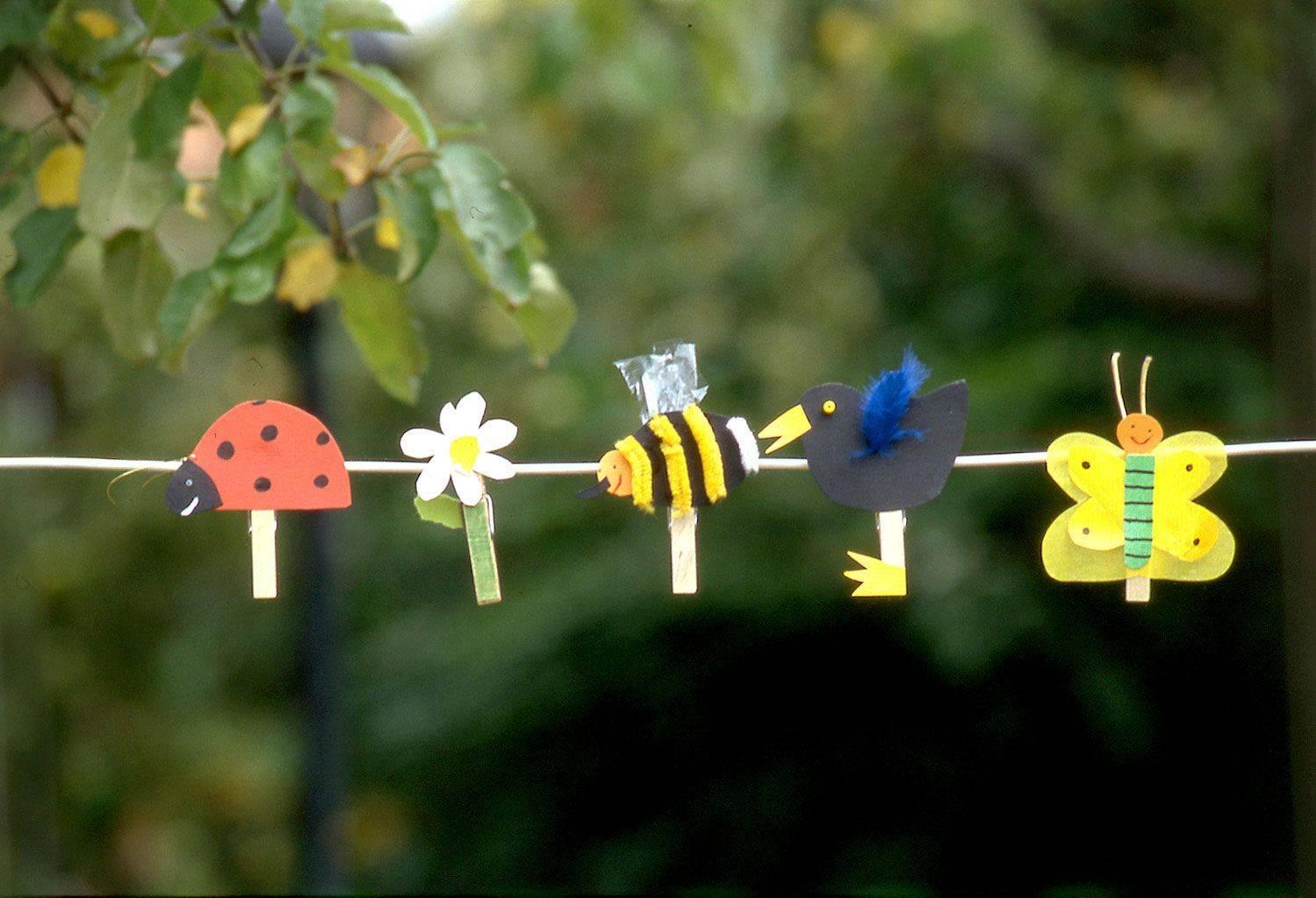 Gut bekannt Basteln mit Kindern - Kostenlose Bastelvorlage Basteln im Frühling QR76