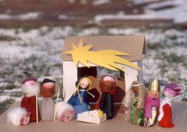 Basteln Mit Kindern Kostenlose Bastelvorlage Advent Winter Und