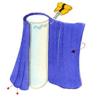basteln mit kindern kostenlose bastelvorlage basteln f r m dchen prinzessin lila. Black Bedroom Furniture Sets. Home Design Ideas
