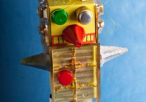 Basteln Mit Kindern Kostenlose Bastelvorlage Action Mull Roboter