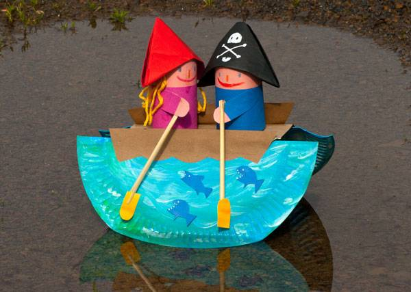 basteln mit kindern kostenlose bastelvorlage basteln rund ums wasser schaukelboot. Black Bedroom Furniture Sets. Home Design Ideas