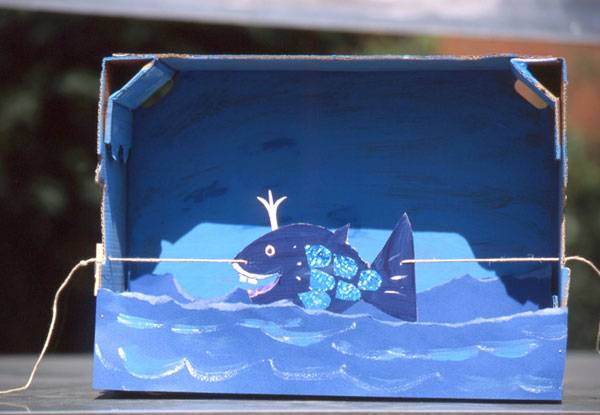 basteln mit kindern kostenlose bastelvorlage tiere wal aus pappe. Black Bedroom Furniture Sets. Home Design Ideas