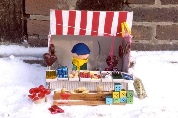 basteln mit kindern kostenlose bastelvorlage advent winter und weihnachten kleiner. Black Bedroom Furniture Sets. Home Design Ideas