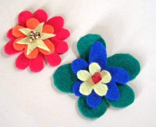 Kostenlose Bastelidee Blumenschmuck zum Basteln