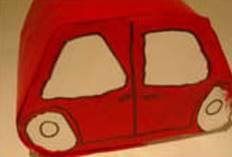 Basteln Mit Kindern Kostenlose Bastelvorlage Action Auto