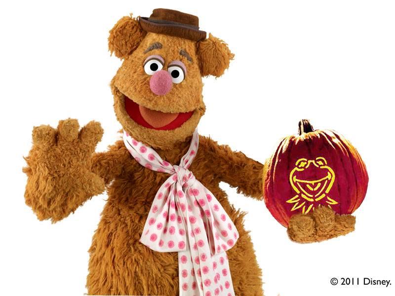 basteln mit kindern kostenlose bastelvorlage halloween die muppets kermit schnitzanleitung. Black Bedroom Furniture Sets. Home Design Ideas