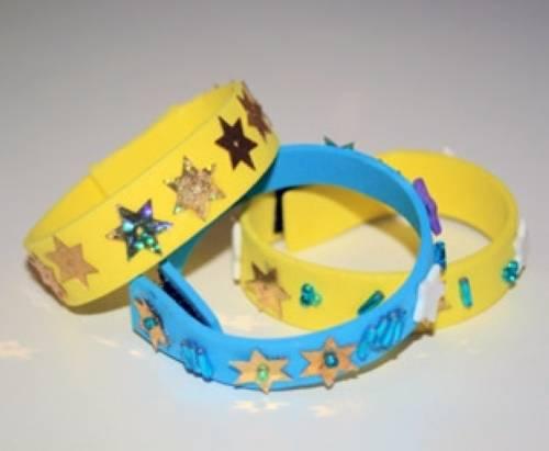 Armband basteln  Basteln mit Kindern - Kostenlose Bastelvorlage Muttertag ...