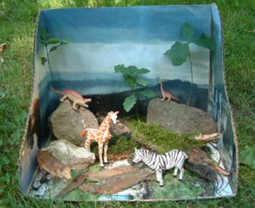 basteln mit kindern kostenlose bastelvorlage tiere wildpark. Black Bedroom Furniture Sets. Home Design Ideas