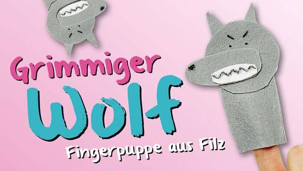 Basteln Mit Kindern Kostenlose Bastelvorlage Tiere Wolf