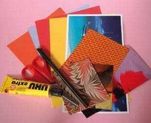 Materialien für Geschenkkarten