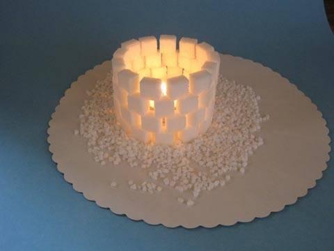 bastelvorlage advent winter und weihnachten windlicht iglu zum basteln. Black Bedroom Furniture Sets. Home Design Ideas
