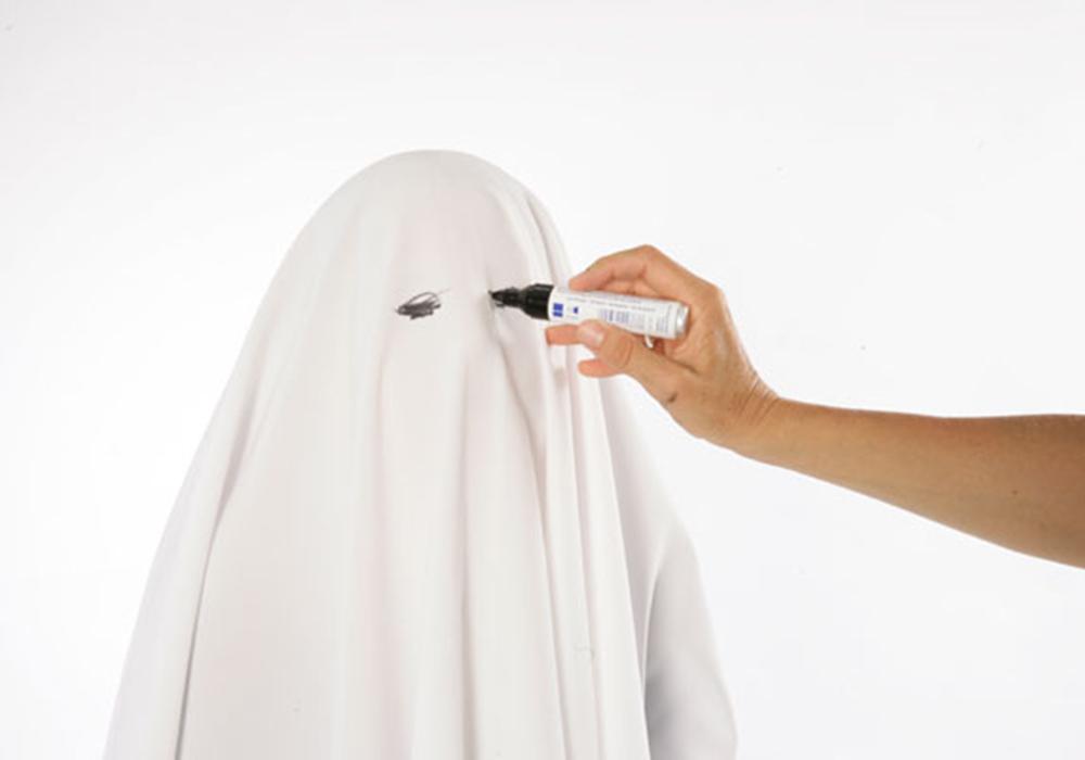 Basteln mit Kindern - Kostenlose Bastelvorlage Halloween-Kostüme ...