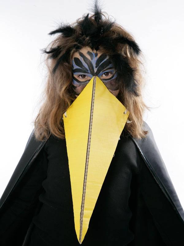 Basteln Mit Kindern Kostenlose Bastelvorlage Kostüme Rabe
