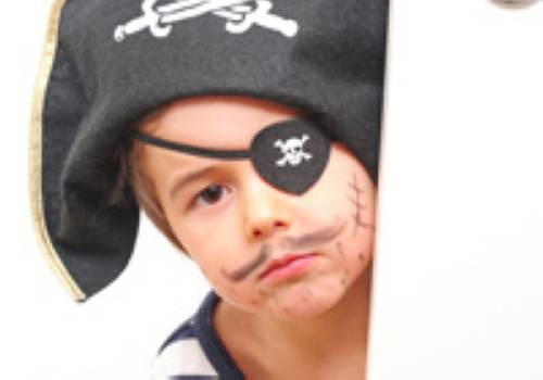 Kinderschminken: Pirat