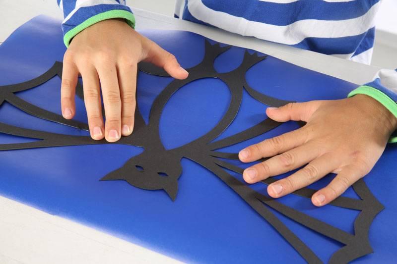basteln mit kindern kostenlose bastelvorlage basteln zum. Black Bedroom Furniture Sets. Home Design Ideas
