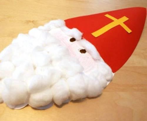 Basteln Mit Kindern Kostenlose Bastelvorlage Nikolaus Nikolaus Maske