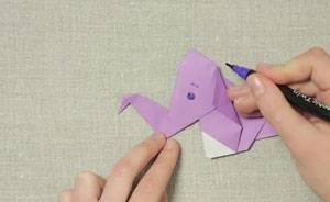Turbo Basteln mit Kindern - Kostenlose Bastelvorlage Origami und Papier SN51