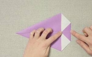 Top Basteln mit Kindern - Kostenlose Bastelvorlage Origami und Papier UU61