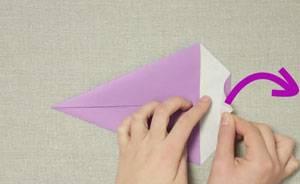Beliebt Basteln mit Kindern - Kostenlose Bastelvorlage Origami und Papier XU66