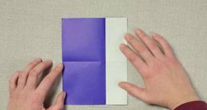 basteln mit kindern kostenlose bastelvorlage origami und papier origami fisch. Black Bedroom Furniture Sets. Home Design Ideas