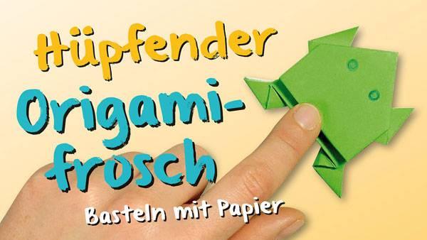 Basteln Mit Kindern Kostenlose Bastelvorlage Origami Und