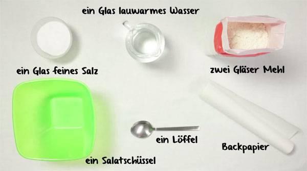 Bevorzugt Basteln mit Kindern - Kostenlose Bastelvorlage Salzteig: Salzteig ZM35