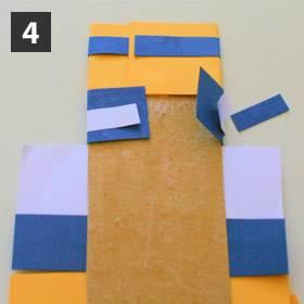 basteln mit kindern kostenlose bastelvorlage vatertag foto krawatte. Black Bedroom Furniture Sets. Home Design Ideas