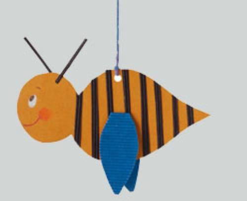 Basteln Mit Kindern Kostenlose Bastelvorlage Tiere Biene