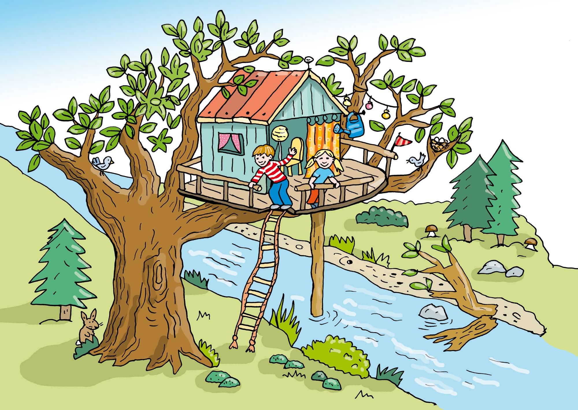Vorlesegeschichte Das Gefahrliche Baumhaus