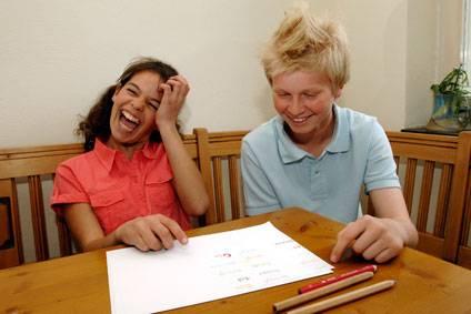 experiment für kinder - sonstige experimente: bunte lese-experimente