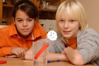 Experiment für Kinder - Experimente mit Wasser: Das Seeungeheuer