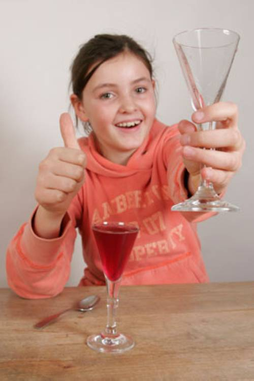 experiment für kinder  experimente mit wasser magische