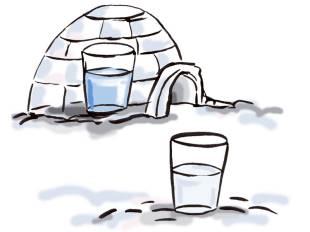 Experimente: Natur und Tiere: Kann Schnee wärmen?