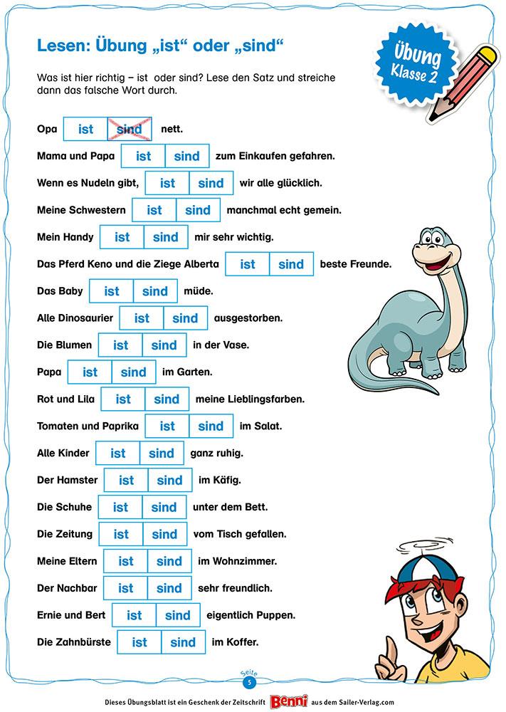 Lesen Klasse 2 – Die besten Übungen für die Grundschule