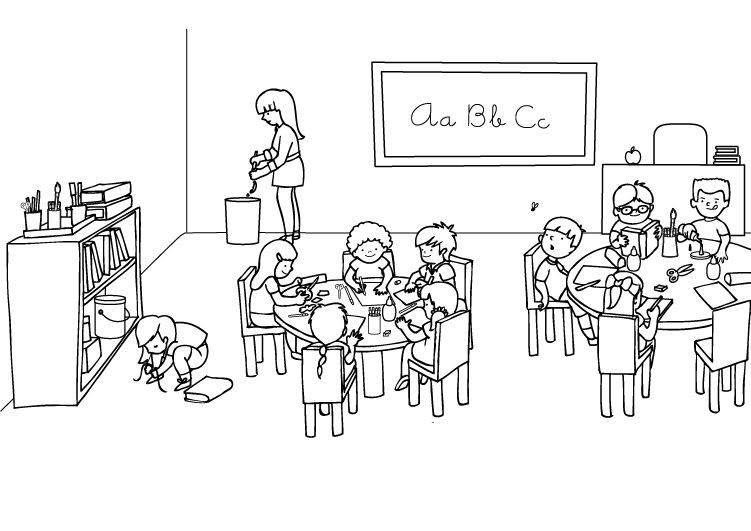 Fantastisch Druckbare Erste Tag Des Kindergartens Malvorlagen Bilder ...