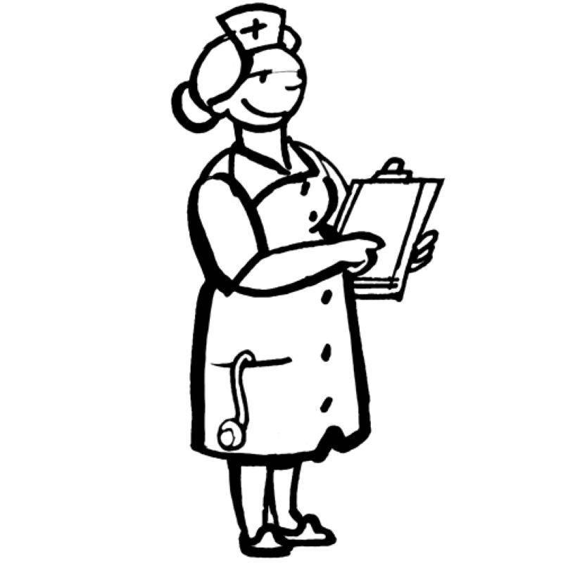 Schön Malvorlagen Arzt Und Krankenschwester Fotos - Druckbare ...