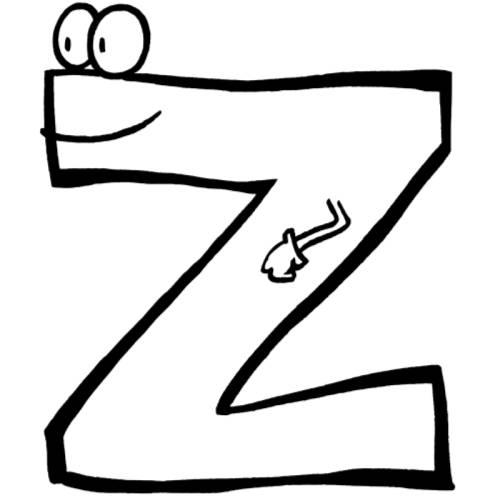 Gemütlich Buchstabe Z Malvorlagen Bilder - Entry Level Resume ...