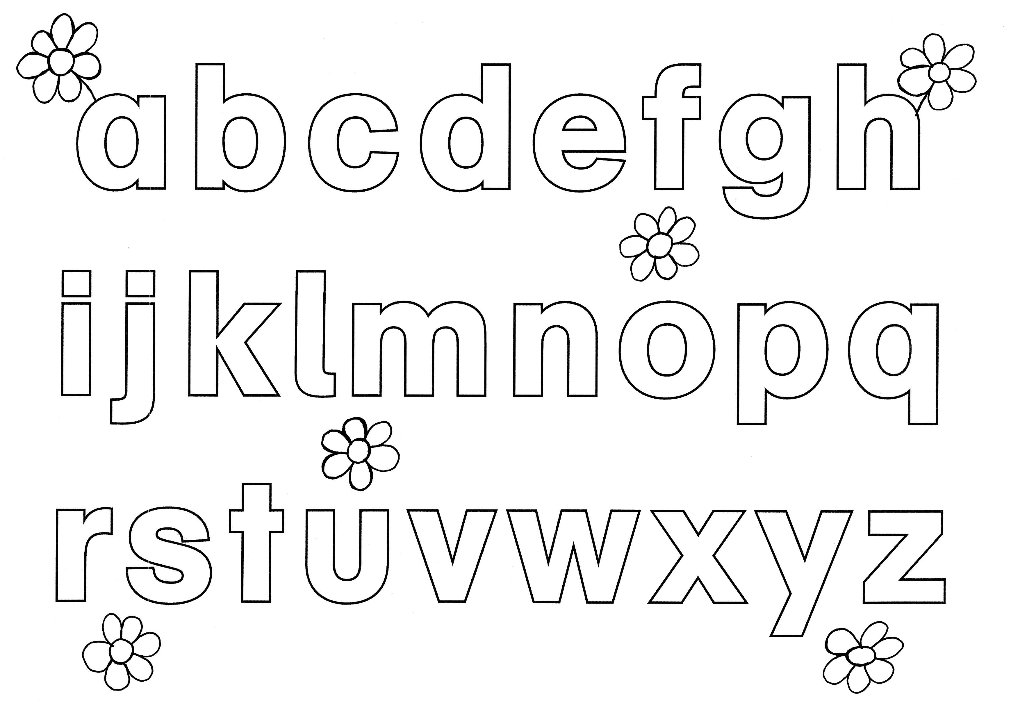 ausmalbild buchstaben lernen alphabet ausmalen kostenlos ausdrucken. Black Bedroom Furniture Sets. Home Design Ideas