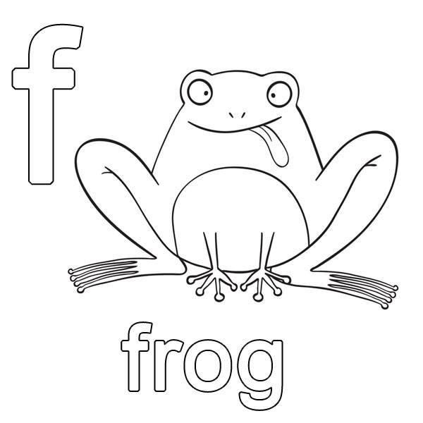 Kostenlose malvorlage englisch lernen frog zum ausmalen - Frosch auf englisch ...