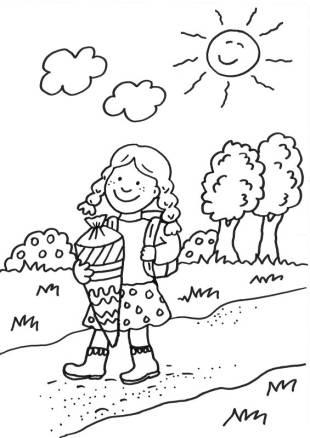basteln mit kindern - kostenlose bastelvorlage schultüten: einhorn-schultüte basteln