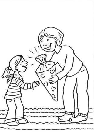 Kostenlose Malvorlagen und Bastelideen für Kinder