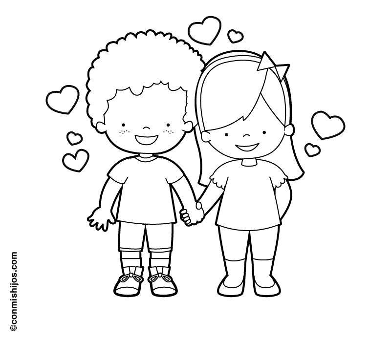 kostenlose malvorlage hochzeit und liebe verliebtes paar