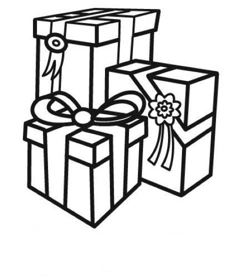 kostenlose malvorlage geburtstag geschenke zum geburtstag zum ausmalen. Black Bedroom Furniture Sets. Home Design Ideas