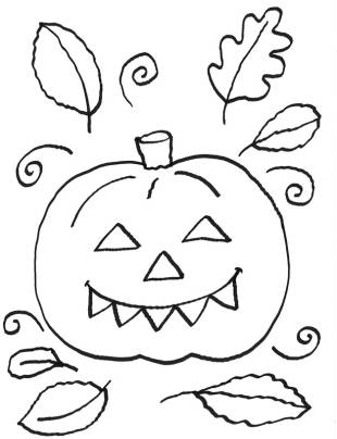 kostenlose malvorlage halloween: kostenlose malvorlage: halloween kürbis zum ausmalen