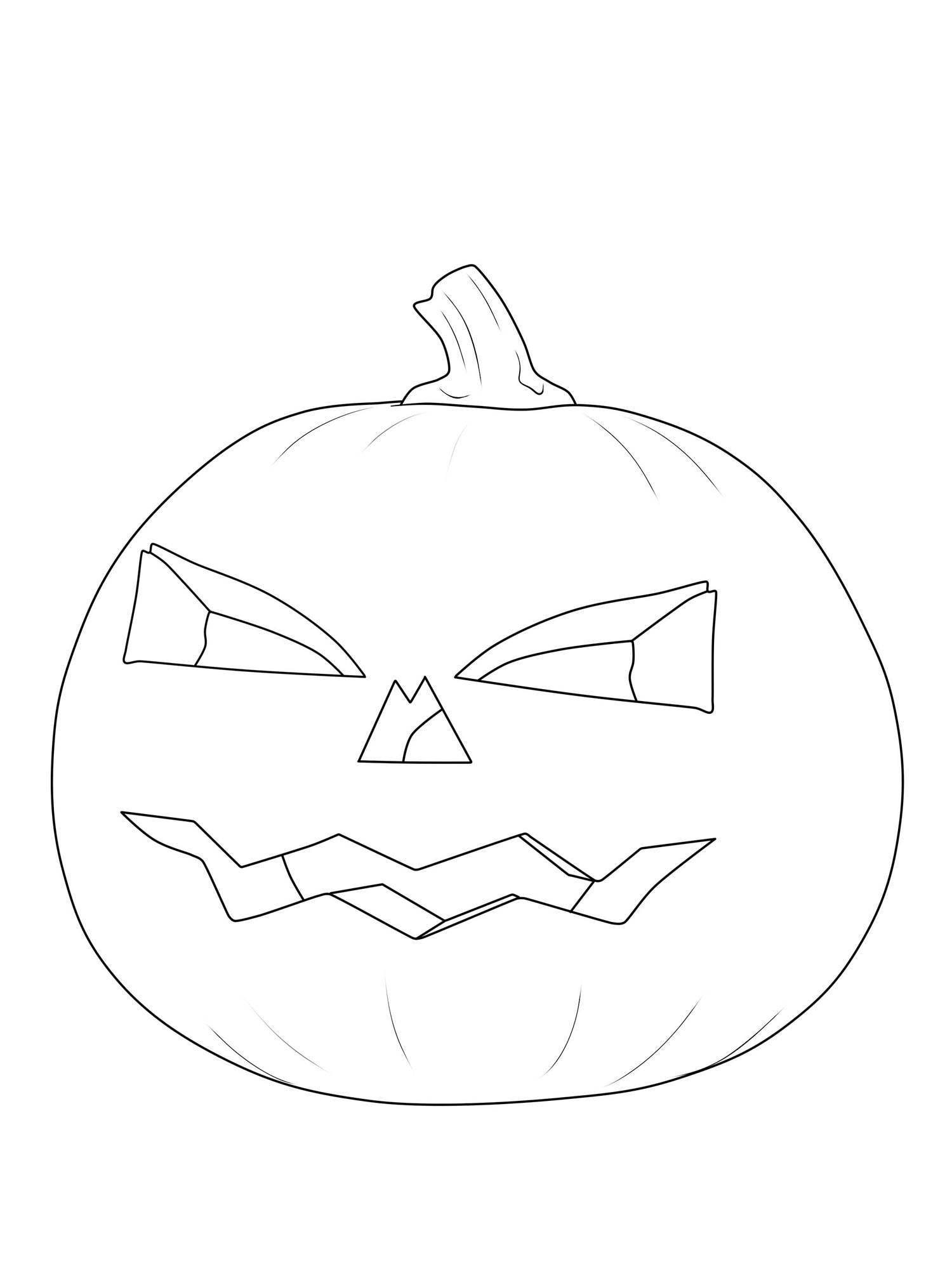 ausmalbild halloween kürbislaterne ausmalen kostenlos