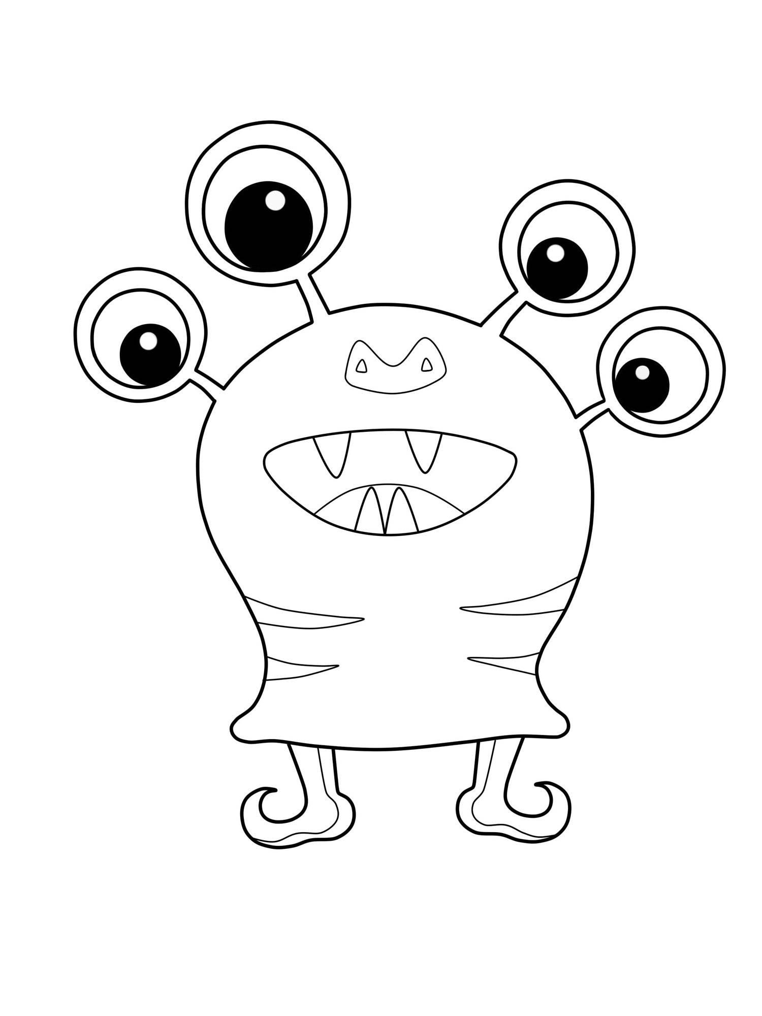 Malvorlagen Monster Zum Ausdrucken My Blog